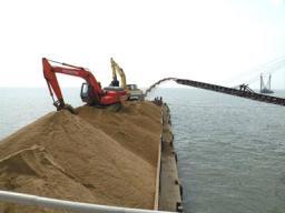 отгрузка песка