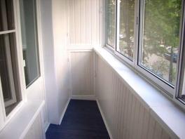 Отделка балкона КУрган