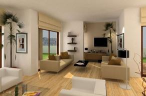 интерьер квартиры в стиле классика.