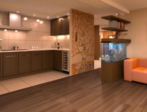 Идеи как объединить кухню с гостиной 172