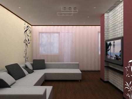 Интерьер гостиной в хрущевке | Дизайн, фото
