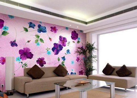 Дизайн обоев для стен фото