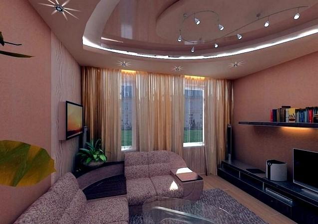 Дизайн спальни 18кв м