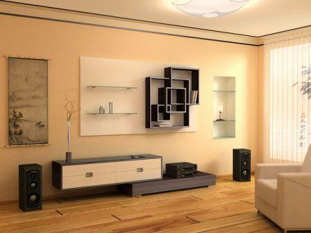 Дизайн зала 20 кв м