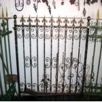кованый забор, художественная ковка